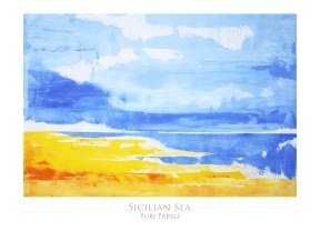 Sicilian Sea 50x70 cm - SOLD
