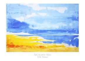 Sicilian Sea 50x70 cm - SOLD