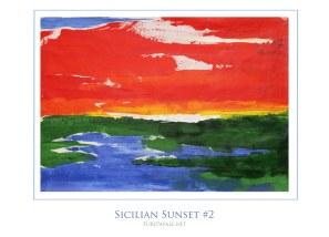 Sicilian Landscape #2 - 50x70 cm - SOLD